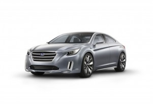 Subaru Concept Previews Look Of 2015 Legacy, Outback