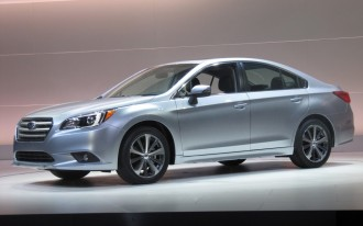 Redesigned 2015 Subaru Legacy Bows At Chicago Auto Show: Live Photos