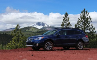 2015 Subaru Outback And Legacy Earn Five-Star Safety Ratings