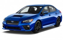 2015 Subaru WRX 4-door Sedan Man Angular Front Exterior View