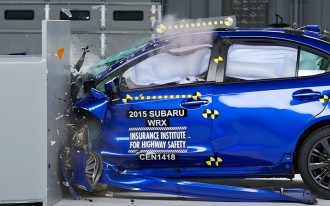 2015 Subaru WRX Is A Top Safety Pick