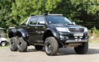 Bulgarian Tuner Builds Toyota Hilux 6x6: Video