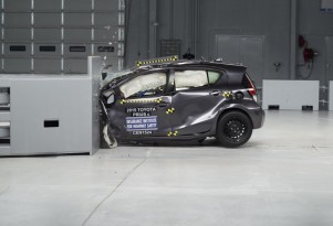 Latest Toyota Prius C Dubbed IIHS Top Safety Pick After Updates