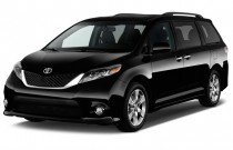 2015 Toyota Sienna 5dr 8-Pass Van SE FWD (Natl) Angular Front Exterior View