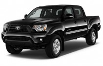 2015 Toyota Tacoma 2WD Double Cab V6 AT PreRunner (GS) Angular Front Exterior View