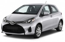 2015 Toyota Yaris 3dr Liftback Auto LE (Natl) Angular Front Exterior View
