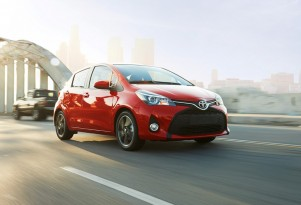 2015 Toyota Yaris Subcompact Updated Before All-New Model