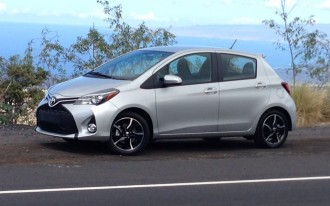 2015 Toyota Yaris: First Drive