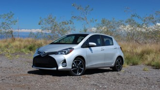 2015 Toyota Yaris  -  First Drive, September 2014