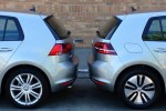 2015 Volkswagen e-Golf Vs. Golf TDI: