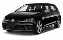 2015 Volkswagen Golf R 4-door HB Angular Front Exterior View