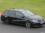 2015 Volkswagen Golf R wagon spy shots