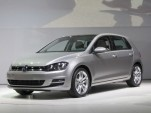 2015 Volkswagen Golf And GTI Unveiled At New York Auto Show