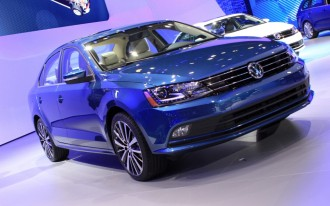 Volkswagen Reveals Facelifted 2015 Jetta: 2014 New York Auto Show Live Photos