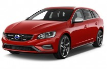 2015 Volvo V60 4-door Wagon T6 R-Design AWD Angular Front Exterior View