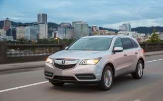 2016 Acura MDX Adds Nine-Speed Automatic, More Safety-Tech Features