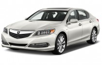 2016 Acura RLX 4-door Sedan Hybrid Advance Pkg Angular Front Exterior View