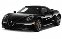 2016 Alfa Romeo 4C 2-door Coupe Angular Front Exterior View