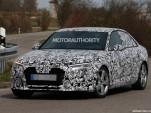 2017 Audi A4 spy shots - Image via S. Baldauf/SB-Medien