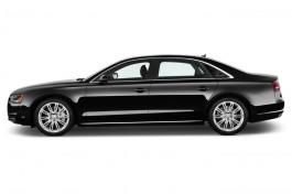 2016 Audi A8 L Side Exterior View