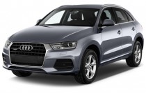 2016 Audi Q3 FrontTrak 4-door Premium Plus Angular Front Exterior View