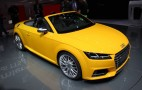 2016 Audi TT Roadster Revealed: 2014 Paris Auto Show Live Photos & Video