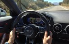 2016 Audi TT: Driving With Its Virtual Cockpit A Vision Of The Future