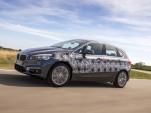 2016 BMW 2-Series Active Tourer plug-in hybrid prototype