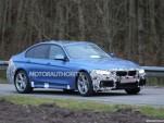 2016 BMW 3-Series facelift spy shots - Image via S. Baldauf/SB-Medien