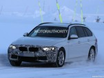 2016 BMW 3-Series Sports Wagon (Touring) facelift spy shots - Image via S. Baldauf/SB-Medien