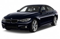 2016 BMW 4-Series 4-door Sedan 435i RWD Gran Coupe Angular Front Exterior View