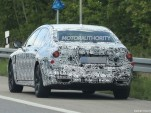 2016 BMW 7-Series plug-in hybrid spy shots