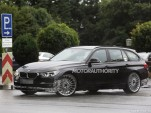 2016 BMW Alpina B3 Biturbo Sports Tourer spy shots - Image via S. Baldauf/SB-Medien