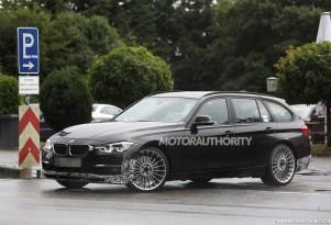 2016 BMW Alpina B3 Biturbo Sports Tourer spy shots - Image via S. Baldauf/SB-Medien