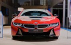 BMW Presents i8 Protonic Red Special Edition: live photos