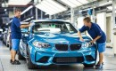 2016 BMW M2 production in Leipzig, Germany