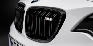 2016 BMW M2 with M Performance parts, 2015 SEMA show