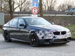 2014 BMW M5 facelift spy shots
