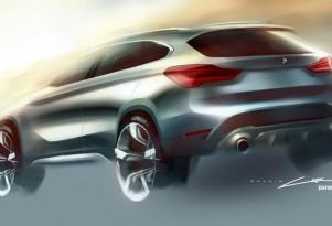 2016 BMW X1 sketch