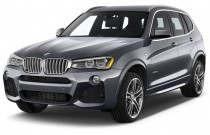 2016 BMW X3 AWD 4-door xDrive28d Angular Front Exterior View