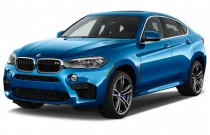 2016 BMW X6 M AWD 4-door Angular Front Exterior View