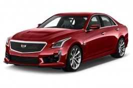 2016 Cadillac CTS-V 4-door Sedan Angular Front Exterior View