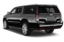 2016 Cadillac Escalade ESV 2WD 4-door Luxury Collection Angular Rear Exterior View