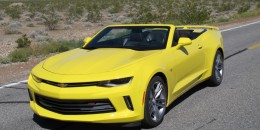 2016 Chevrolet Camaro convertible, 2016 Spring Mountain Motorsports Ranch Drive Program