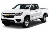 "2016 Chevrolet Colorado 2WD Ext Cab 128.3"" WT Angular Front Exterior View"