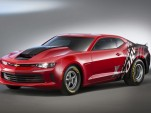 2016 Chevrolet COPO Camaro Courtney Force concept, 2015 SEMA show