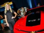 2016 Chevrolet COPO Camaro Courtney Force concept, 2015 SEMA show