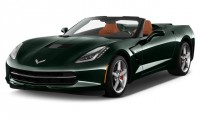 2016 Chevrolet Corvette 2-door Stingray Convertible w/2LT Angular Front Exterior View