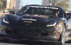 Quadriplegic race driver Sam Schmidt shows off special Chevrolet Corvette Z06