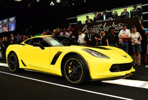 2016 Chevrolet Corvette Z06 C7.R Edition with VIN #001 at Barrett-Jackson auction